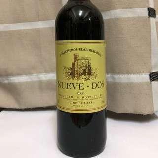 NV Nueve Dos Dry, Spain 紅酒 75cl