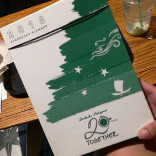 STARBUCKS PLANNER SEALED! RUSH! REPRICED!