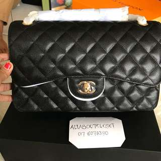 Customer's purchased, Chanel jumbo caviar GHW