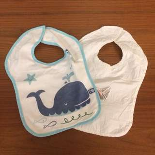 Baby Whale Bibs