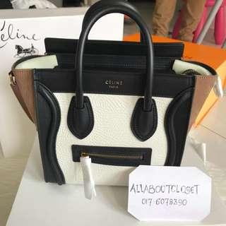 Customer's purchased, Celine Luggage Nano
