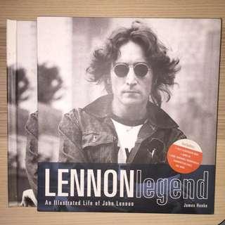 Lennon legend : an lllustrated life of John Lennon by James henke (2003,mixed media)