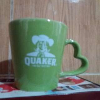 Mug Love motif green