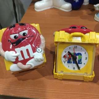 M&M's Collector's Item Alarm Clock