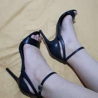 Charles & Keith - Ankle Strap Heels