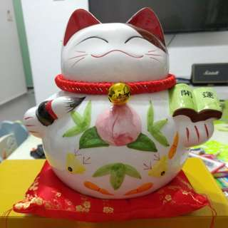 Big Fortune Cat Coin Bank