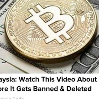 Bitcoin Comemerative Coin