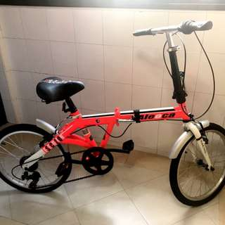 FAST DEAL!! $75 : Aleoca Foldable Bicycle