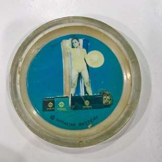 Vintage Hitachi Coaster