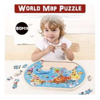 👑 TOI THE WORLD MAP PUZZLE