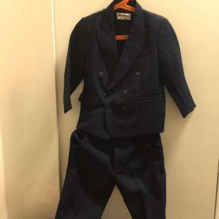 Boy Suit (worn once for wedding ceremony)