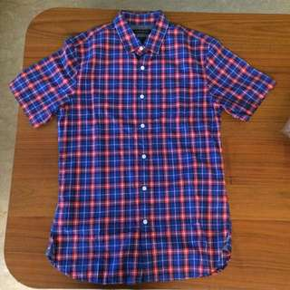 Red & Blue Checkered Shirt