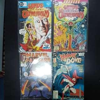 LOT x 5 ASSORTED COMICS (DC, MARVEL, FIRST)