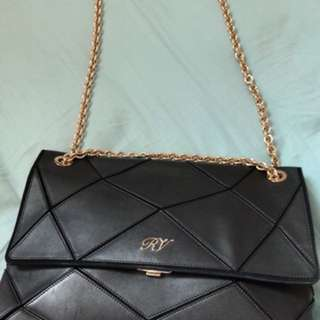 Roger Vivier chain bag NOT mini
