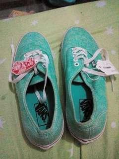 Vans Mint green color