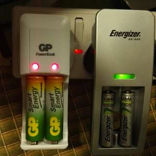 Energizer+gp 充電噐