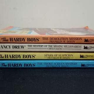 Hardy Boys (4 books for 100)