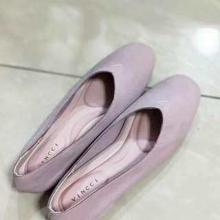 Purplish Pink Flats ( unique colour)