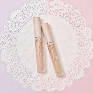 Kylie cosmetics X kim kardashian KKW lip gloss set - AUTHETIC - sale discouny preloved makeup