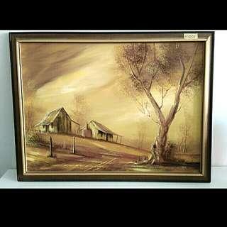 Painting La' Cottage