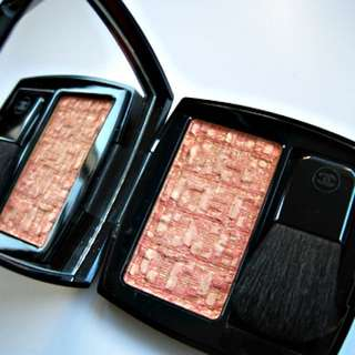 Chanel Blush duo tweed effect #20 Tweed Corail