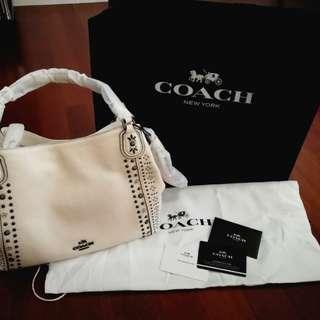 Coach Handbag White