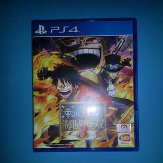 Brand new one piece ps4 game