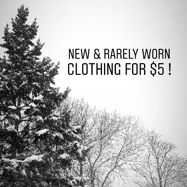 $5 NEW CLOTHING