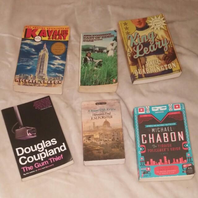 6 Fiction Novels
