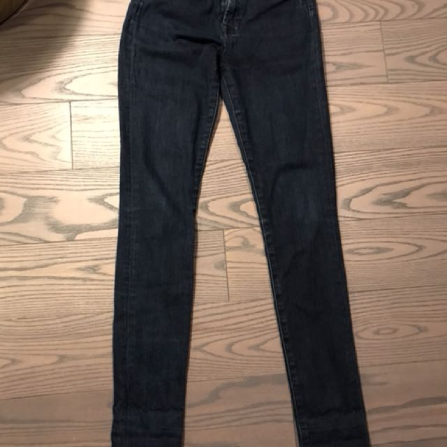 7 for all mankind Hugh waisted Geneviere jeans