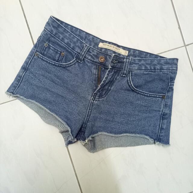 #牛仔短褲
