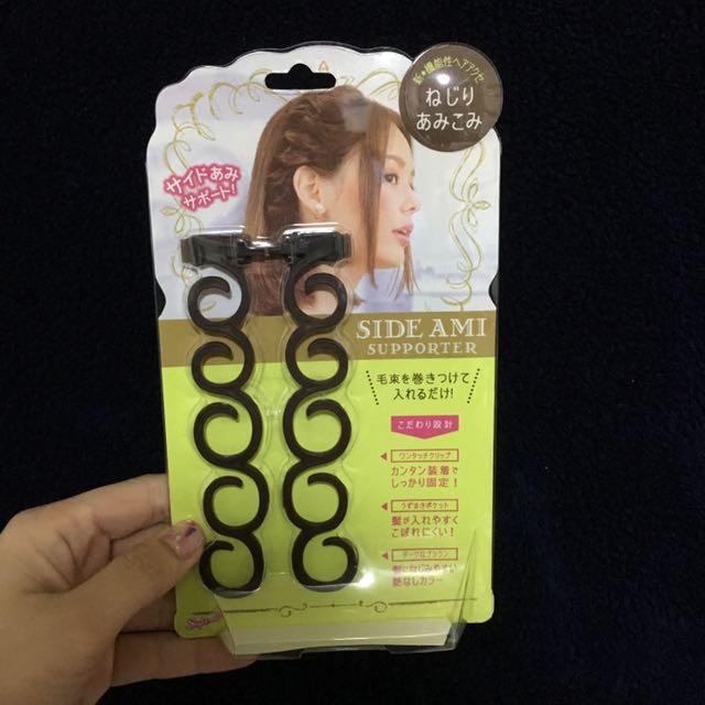 (全新)日本帶回-綁頭髮小幫手