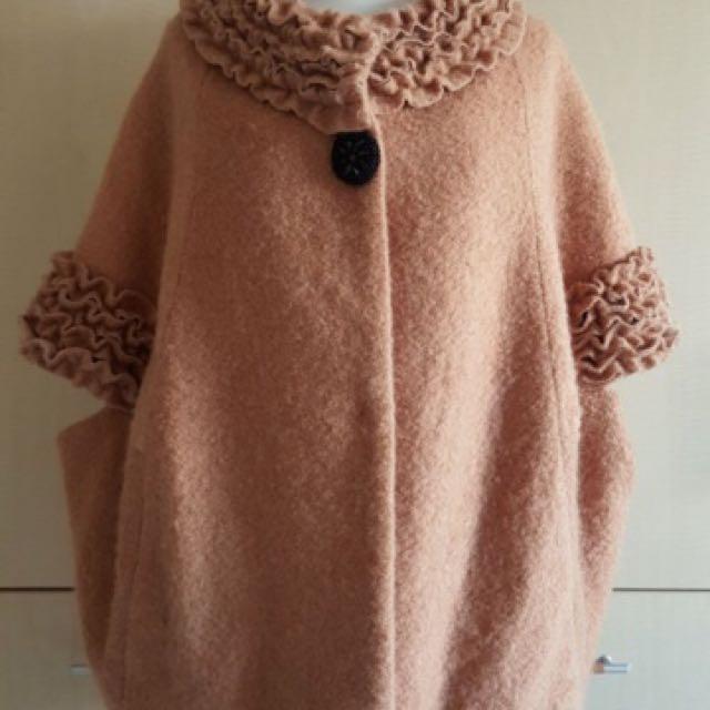 羊毛外套背包