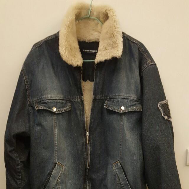 男牛仔夾克外套