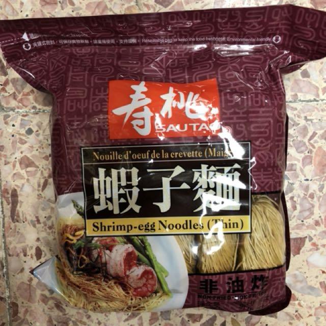 壽桃牌 蝦子麵