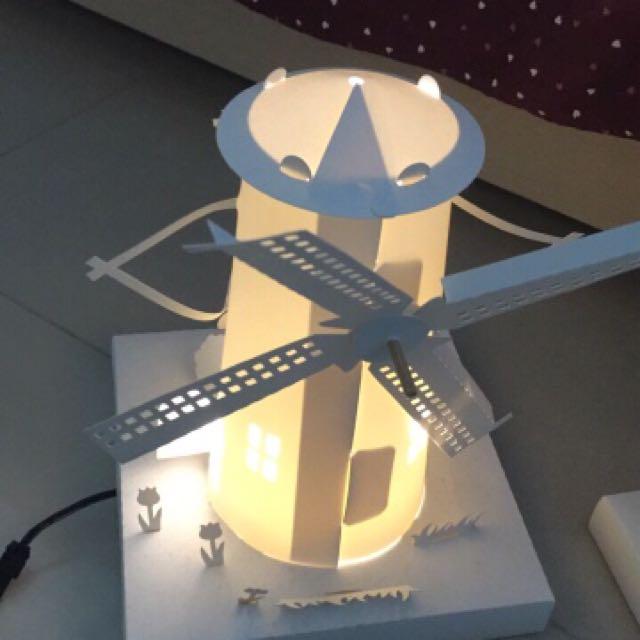 紙風車 夜燈