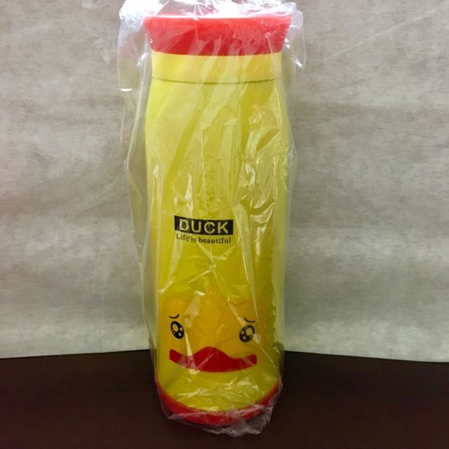 黃色小鴨 動物 保溫瓶 保溫杯 大肚杯