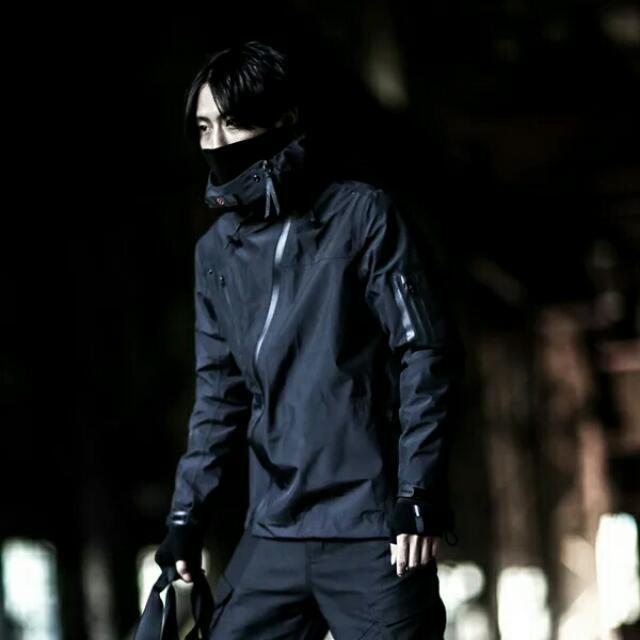 壓膠機能防水衝鋒衣外套/ACG/吉豐重工