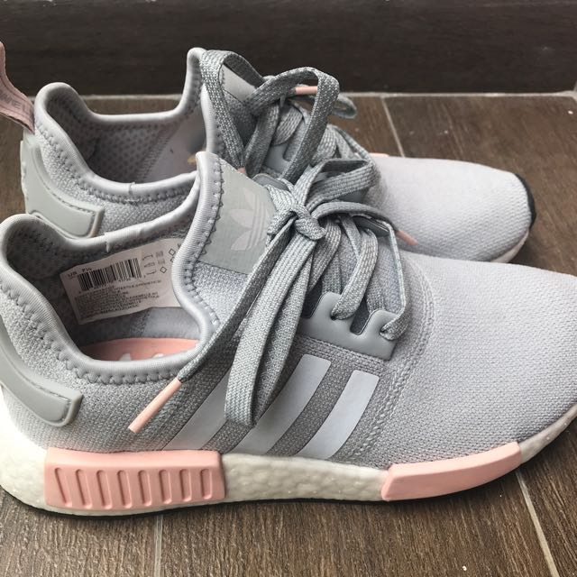 4c7492168c925 Adidas NMD R1 Clear Onix Vapour Pink (W - US 7.5)