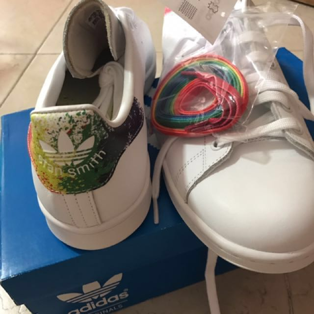 25ae7830a9a2 Adidas Stan Smith  LGBT Pride  US10.5