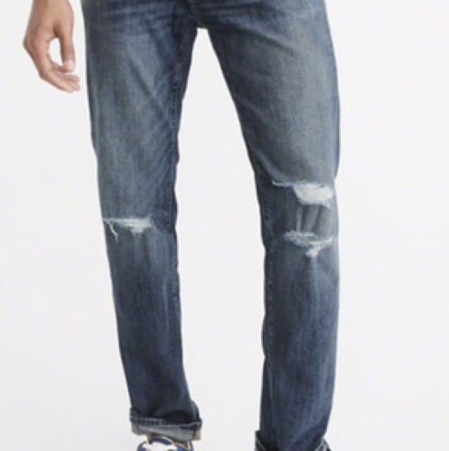 A&F Abercrombie 型男 牛仔褲 美國購入正品 KENNAN