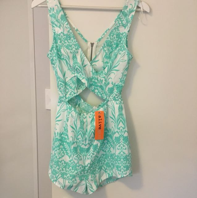 Alive girl playsuit