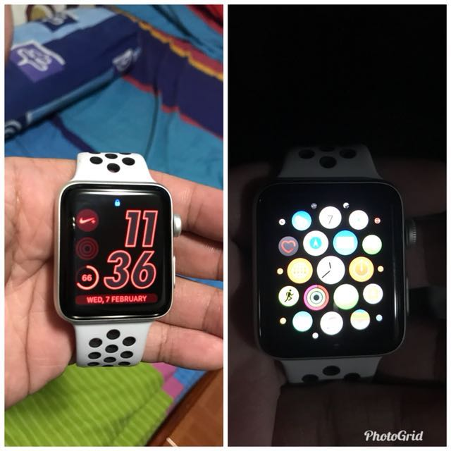 apple watch nike series 3 electronics others on carousell. Black Bedroom Furniture Sets. Home Design Ideas