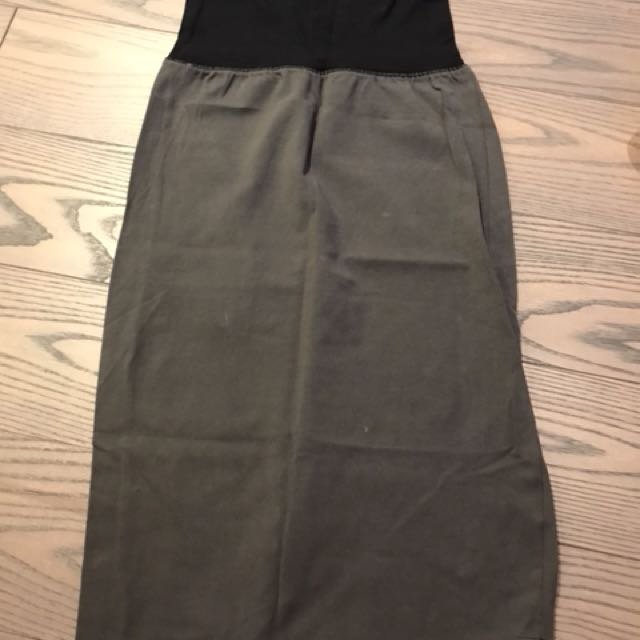 Aritzia Wilfred two tone pencil skirt