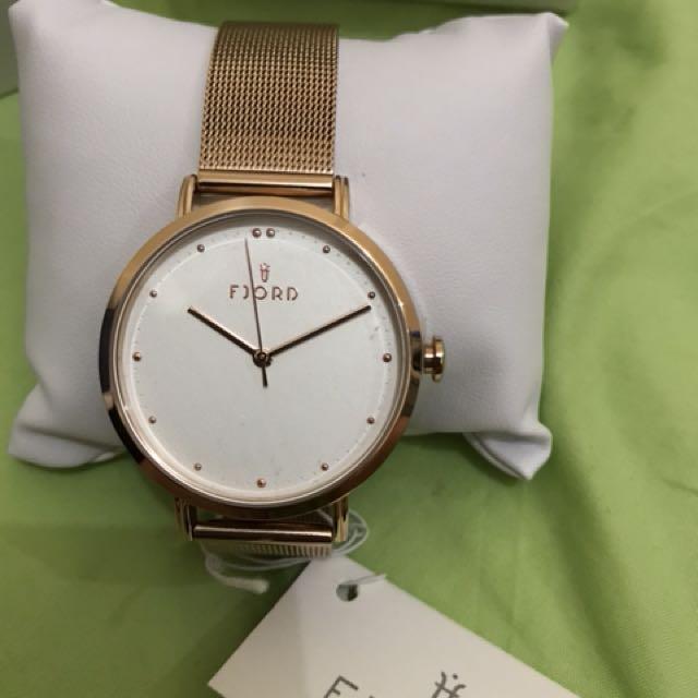 Authentic Fjord watch (not casio timex g-shock fossil skagen)