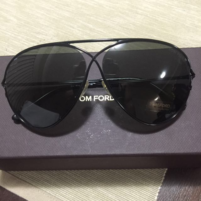 Authentic Tom Ford Peter TF142 Aviators