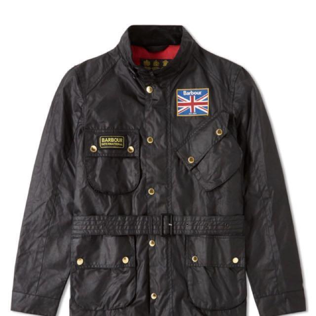 限時限量特價Barbour international 油布外套