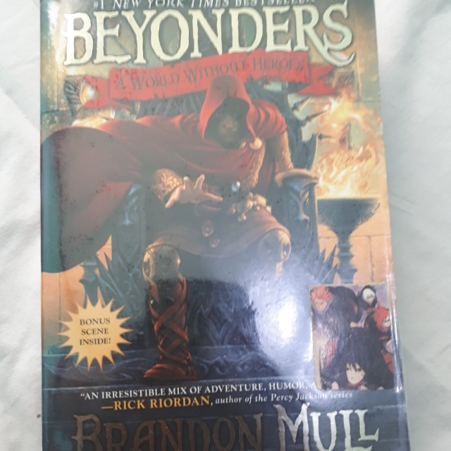 Beyonders: a world without heroes