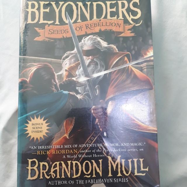 Beyonders:seed of rebellion