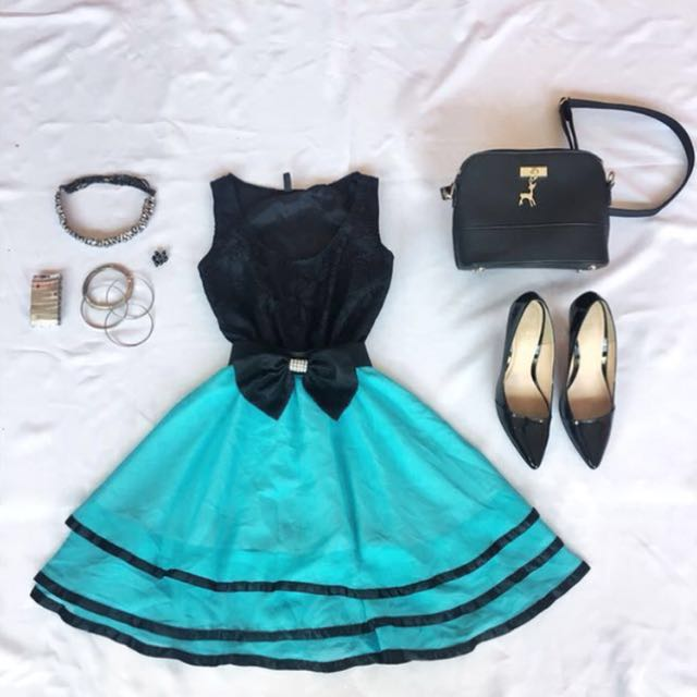 Blue Semi Formal Dress